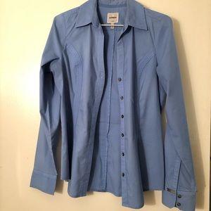 Express Light Blue The Essential Shirt Button Up